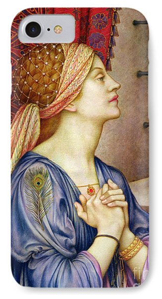 The Prisoner IPhone Case by Evelyn De Morgan