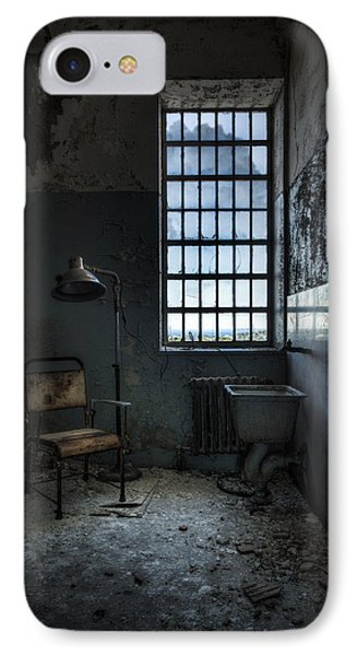 IPhone Case featuring the photograph The Private Room - Abandoned Asylum by Gary Heller