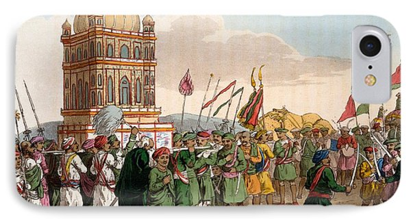 The Procession Of The Taziya, From The IPhone Case