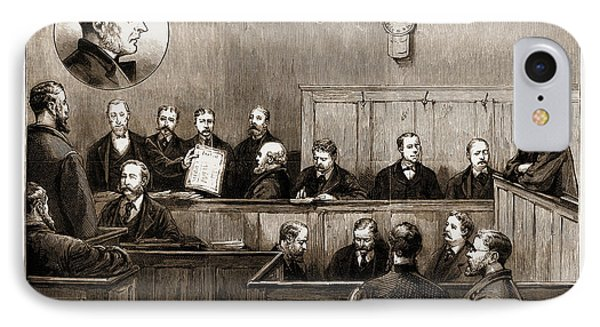 The Prosecution Of The Freiheit Examination Of Herr Johann IPhone Case by Litz Collection