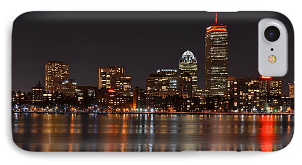 The Pru Lit Up In Red IPhone Case by Toby McGuire