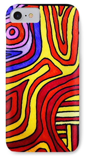 The Psychedelic Musings Of A Squid IPhone Case by Mimulux patricia no No