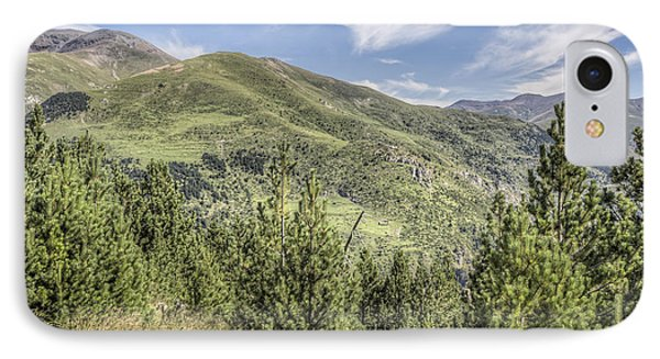 The Puigmal Seen From The Collet De Les Barraques In Catalonia IPhone 7 Case