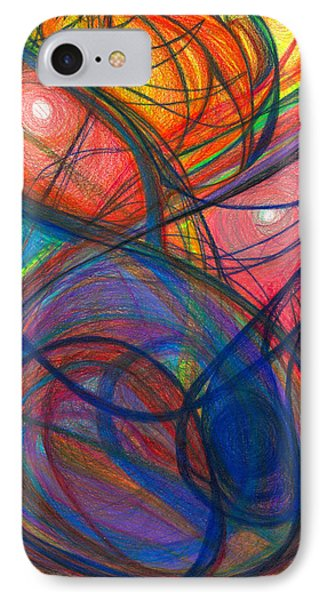 The Pulse Of The Heart Lies Strong Phone Case by Daina White