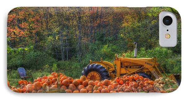 The Pumpkin Patch IPhone Case by Joann Vitali