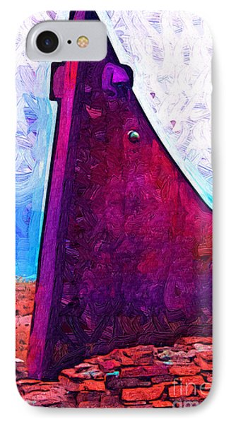 The Purple Pink Wedge IPhone Case by Kirt Tisdale