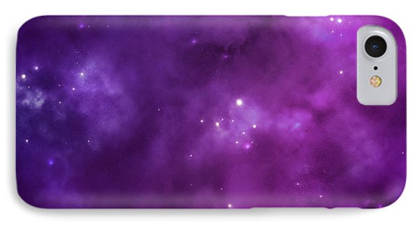 The Purple Vision IPhone Case by Gina Dsgn