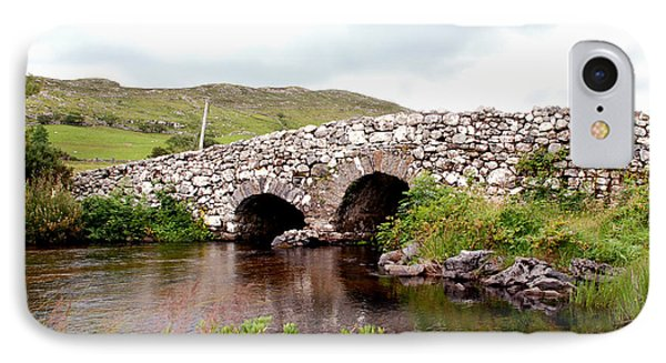 The Quiet Man Bridge IPhone Case by Charlie and Norma Brock