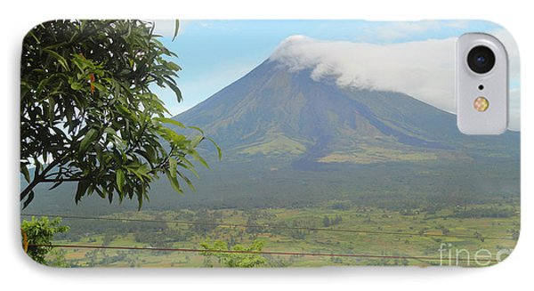 The Quite Mayon Phone Case by Manuel Cadag