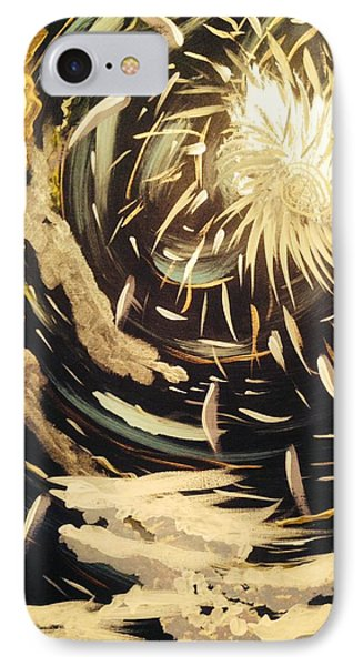 The Rabbit Hole IPhone Case by Edward Paul