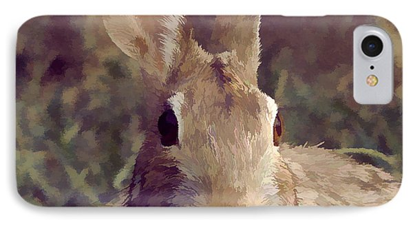 The Rabbit IPhone Case by John Freidenberg