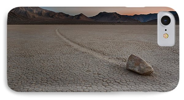 The Racetrack At Death Valley National Park IPhone Case by Eduard Moldoveanu