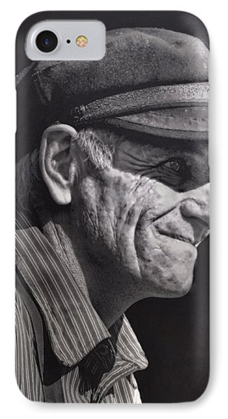IPhone Case featuring the photograph The Railwayman by Wallaroo Images