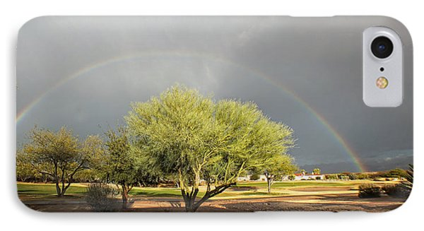 The Rain And The Rainbow IPhone Case by Lucinda Walter