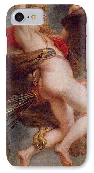 The Rape Of Ganymede IPhone Case by Rubens
