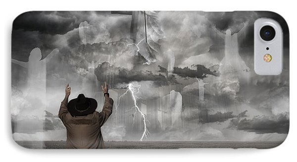 The Rapture II IPhone Case by Keith Kapple