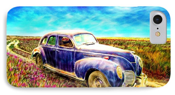 The Rare And Elusive Lincoln Zephyr IPhone Case by Ric Darrell
