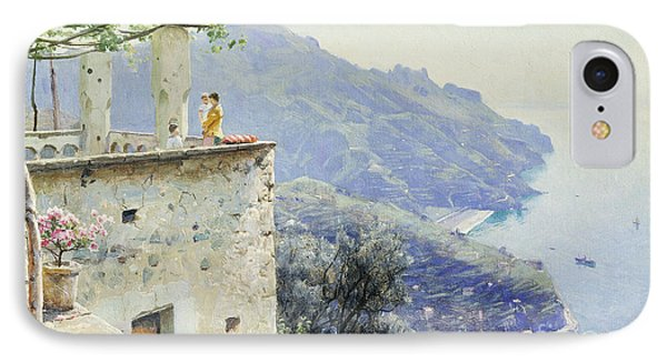 The Ravello Coastline Phone Case by Peder Monsted