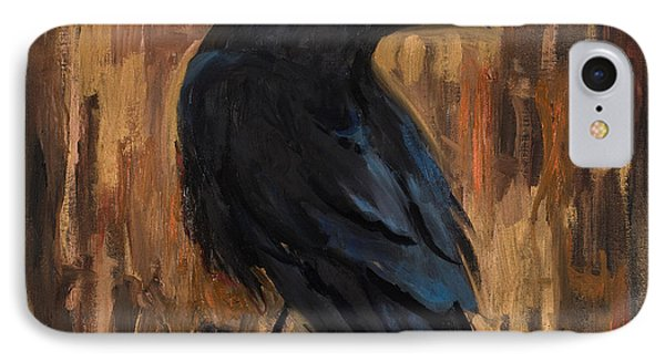 The Raven IPhone Case by Billie Colson