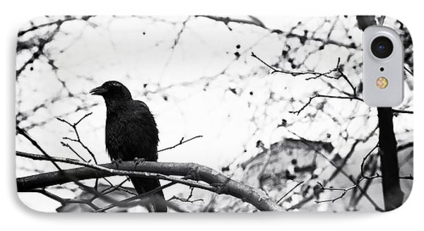 The Raven Phone Case by John Rizzuto