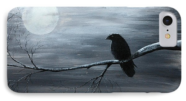 The Raven Piece 2 Of 2 IPhone Case