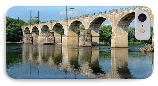 The Reading Csx Railroad Bridge At Ewing IPhone Case