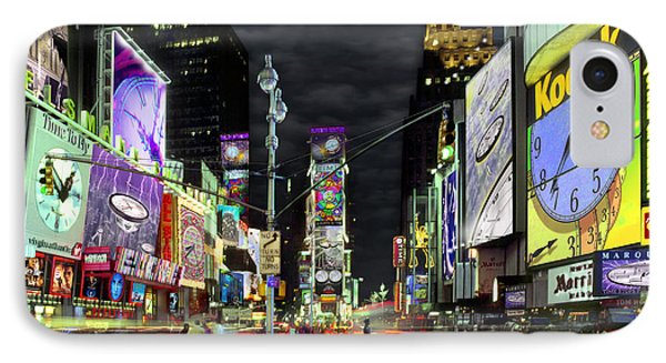 The Real Time Square Phone Case by Mike McGlothlen