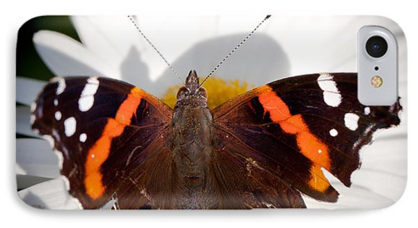 The Red Admiral Butterfly IPhone Case