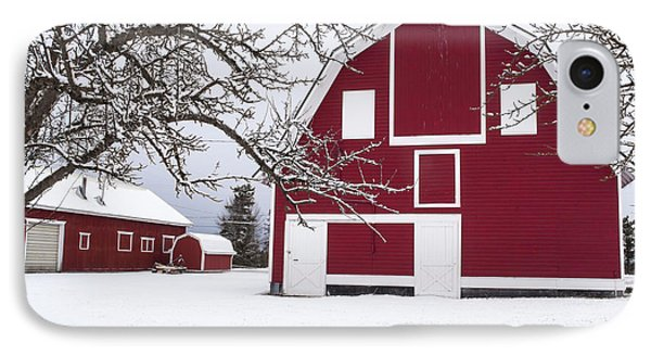 The Red Barn Phone Case by Fran Riley