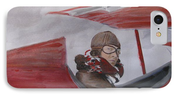 IPhone Case featuring the painting The Red Baron by Vikram Singh
