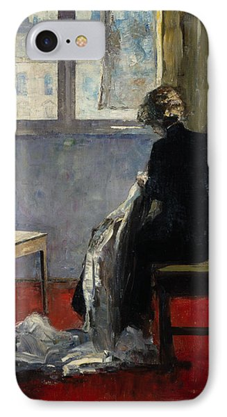 The Red Carpet, 1889 IPhone Case by Lesser Ury