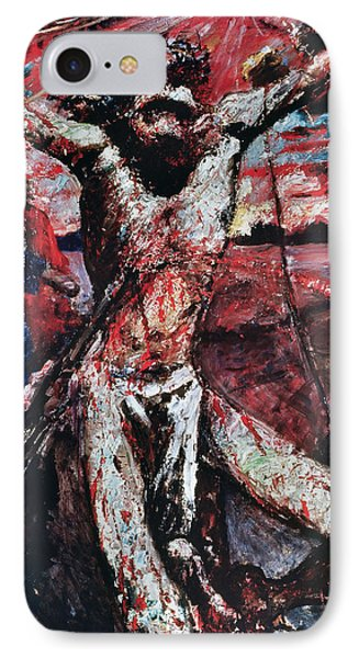 The Red Christ Phone Case by Lovis Corinth