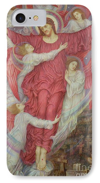 The Red Cross IPhone Case by Evelyn De Morgan