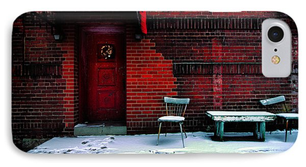 The Red Door Phone Case by Amy Cicconi