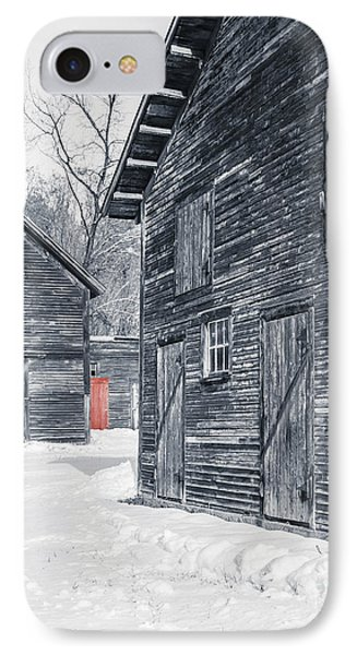 The Red Door IPhone Case by Edward Fielding