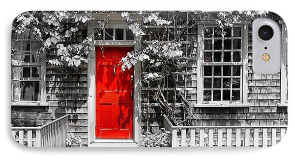 The Red Door IPhone Case by Sabine Jacobs
