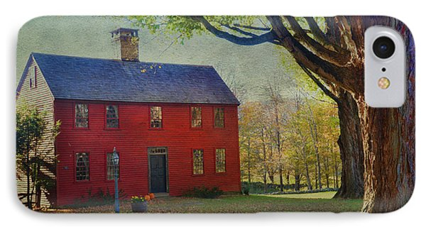 The Red House IPhone Case by Barbara Manis