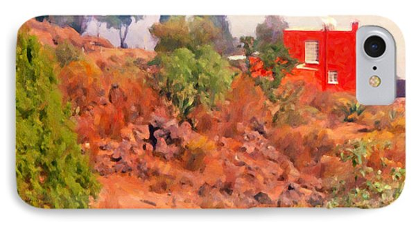 The Red House IPhone Case by Spyder Webb