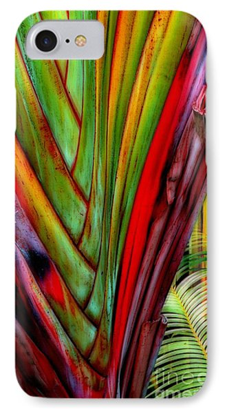 The Red Jungle IPhone Case
