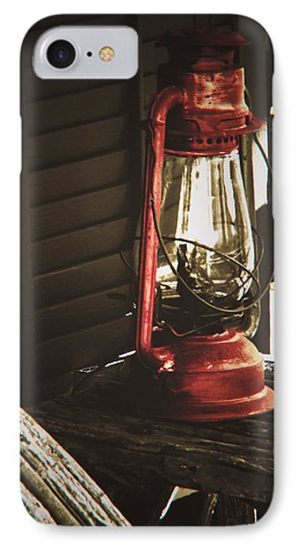 The Red Lantern IPhone Case by Debra Crank