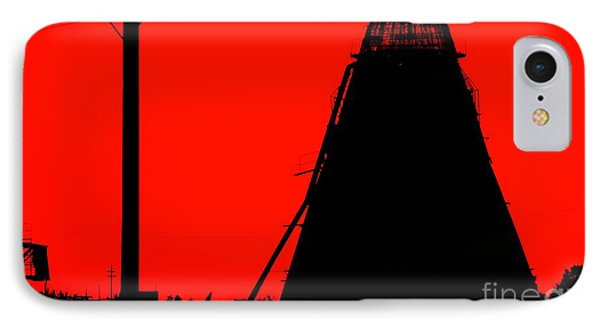 The Red Mill Phone Case by Jessica Shelton