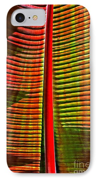 The Red Palm IPhone Case