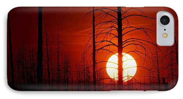 The Red Planet Phone Case by Jim Garrison