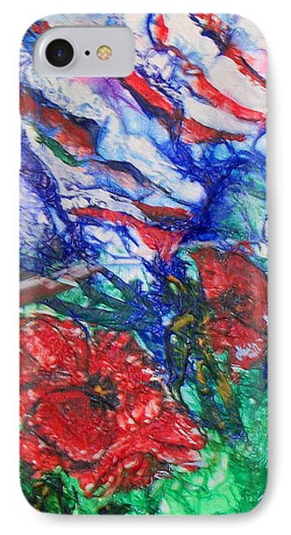 The Red Poppy IPhone Case