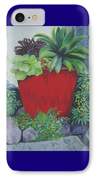 The Red Pot IPhone Case
