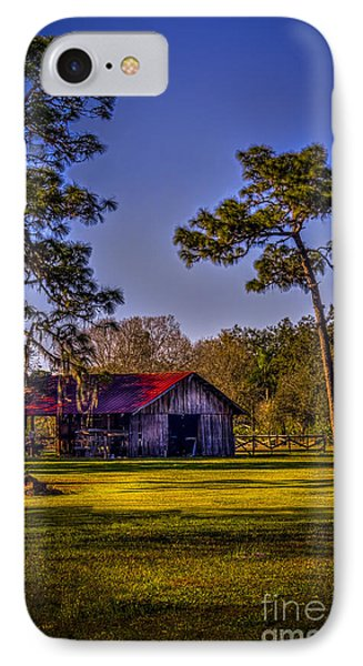 The Red Roof Barn IPhone Case by Marvin Spates