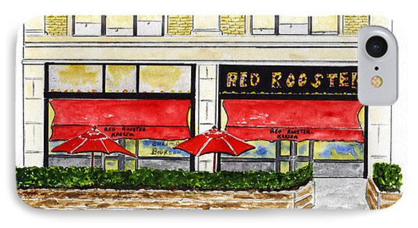 The Red Rooster IPhone Case by AFineLyne