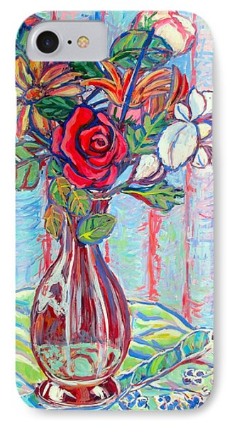 The Red Rose Phone Case by Kendall Kessler