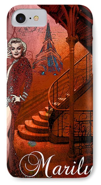 The Red Stair IPhone Case by Greg Sharpe