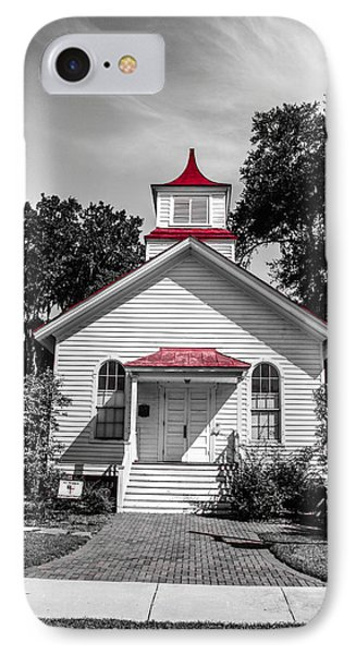 The Red Steeple Phone Case by Steven  Taylor